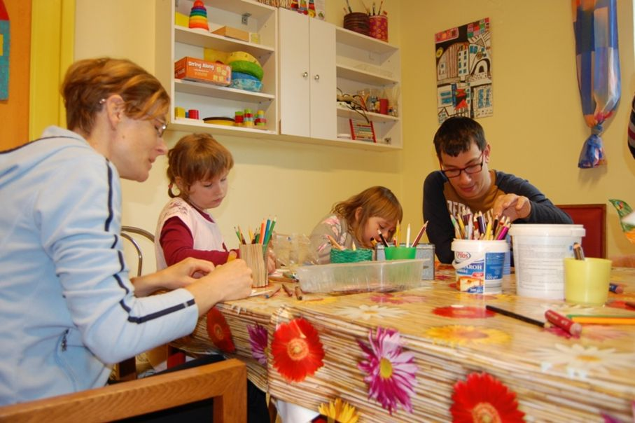 Návšteva detí z MŠ, tvorivé dielne