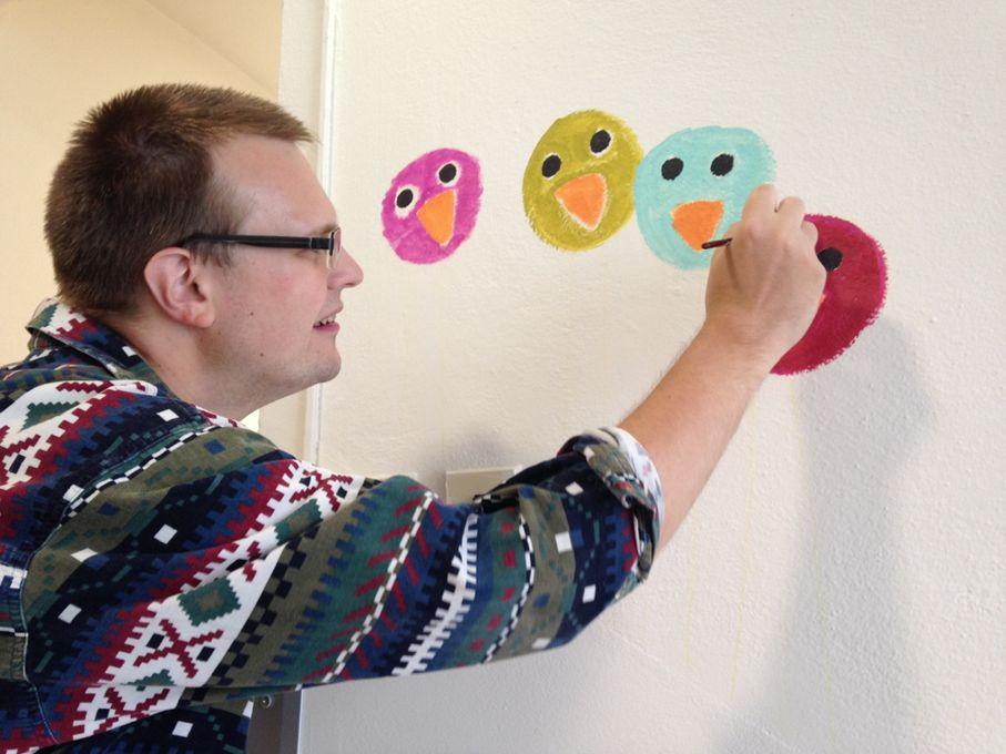 Workšop Maľovanie na stenu